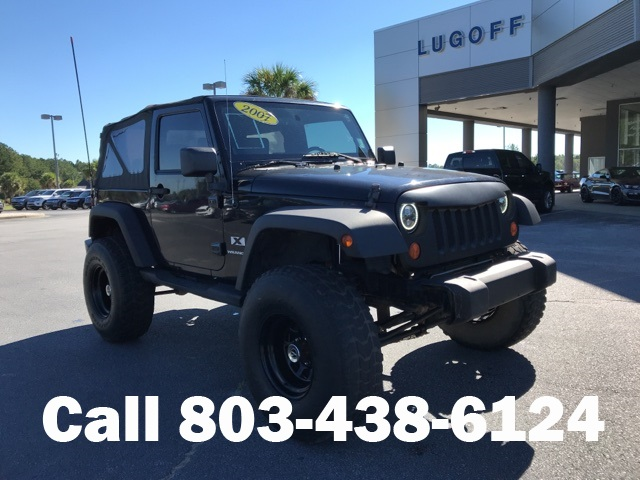 Pre Owned 2007 Jeep Wrangler X
